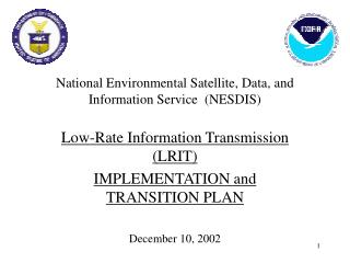 National Environmental Satellite, Data, and Information Service  NESDIS