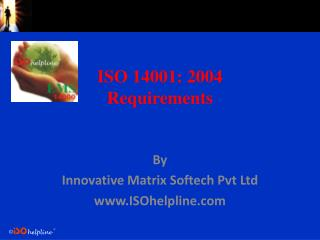 ISO 14001: 2004 Requirements