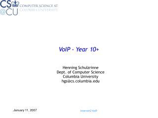 VoIP - Year 10