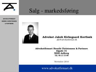 Salg - markedsf ring