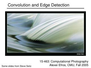 Convolution and Edge Detection