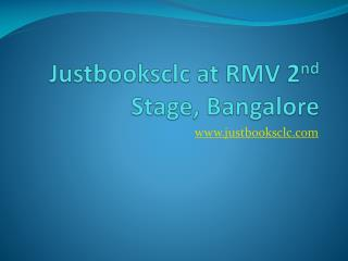 Book Library at RMV Extn Bangalore