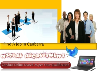 Find a Job in Canberra