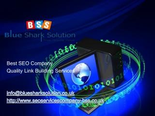 SEO service companies, seo ranking services
