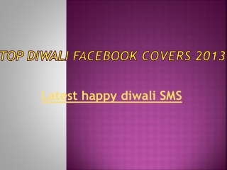 Best diwali Facebook cover 2013