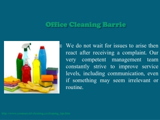 Office Cleaning Oakville