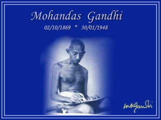 Mohandas  Gandhi 02