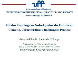 Efeitos Fisiol gicos Sub-Agudos do Exerc cio: Conceito, Caracter sticas e Implica  es Pr ticas