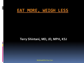 Eat more weigh less Cookbook 23