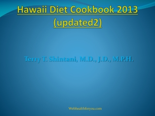 Hawaii Diet Cookbook (updated2) 24