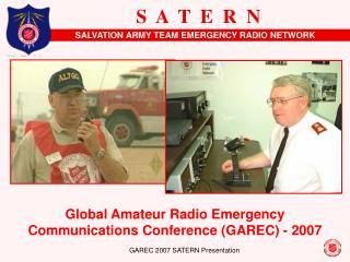 GAREC 2007 SATERN Presentation