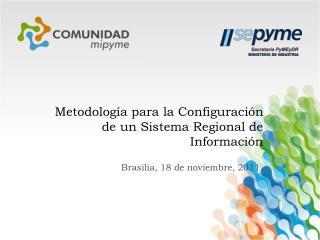 Metodolog a para la Configuraci n de un Sistema Regional de Informaci n