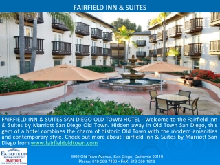 Best Hotels near Old Town San Diego California