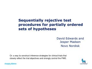 Sequentially rejective test procedures for partially ordered sets of hypotheses