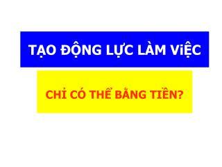 TO  NG LC L M ViC