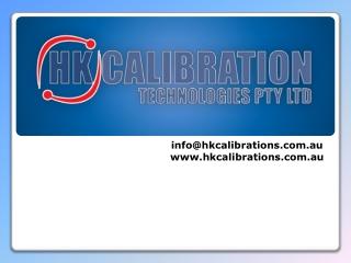 HK Calibration - Services of Pressure Gauge Calibration