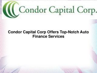 Condor Capital Corp |  Condor Capital Corp Hauppauge NY
