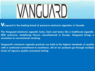Vanguard E Cigs