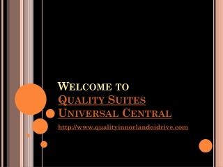 Quality Suites Orlando