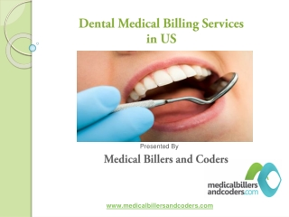 Dental Medical Billing Services