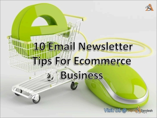 10 Email Newsletter Tips For Ecommerce Business