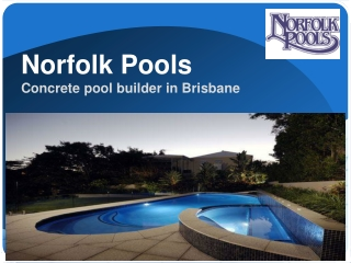 Concrete Pools in Brisbane