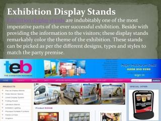 Exhibition Display Stands
