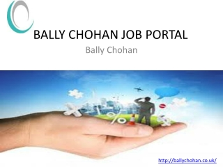 bally chohan job portal