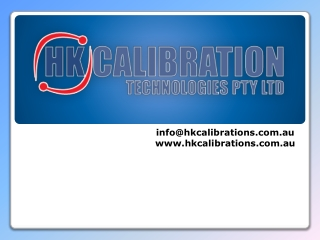 HK Calibration - Services of Pressure Gauge Calibration