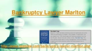 Bankruptcy Lawyer Marlton