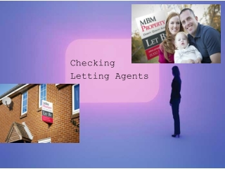 Checking Letting Agents