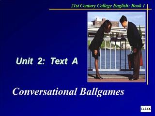 Unit  2:  Text  A