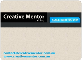 Creative Mentor - Corporate Training