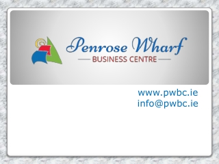 Penrose Wharf Business Centre- Large Office Space Cork City