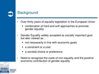 The Economic Case for  Gender Equality