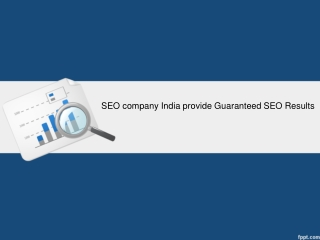 SEO company India provide Guaranteed SEO Results