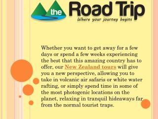 Experience New Zealand Tours