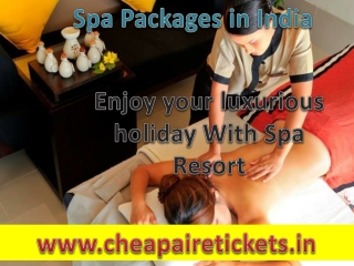 Holiday packages for India with amazing deals