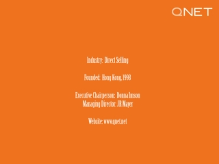 QNET Fact Sheet