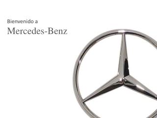 Bienvenido a Mercedes-Benz
