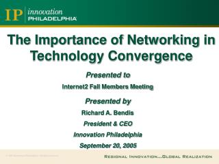 The Importance of Networking in Technology Convergence