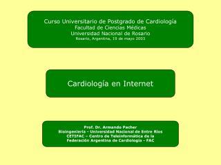 Cardiolog a en Internet