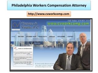philadelphia medical malpractice lawyer - www.cvworkcomp.com