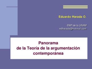Eduardo Harada O.  ENP de la UNAM edharadahotmail