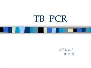 TB  PCR