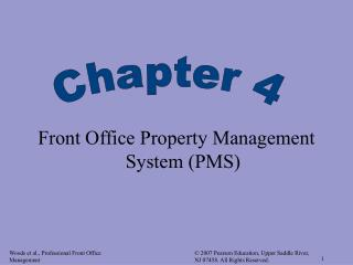 Front Office Property Management System PMS