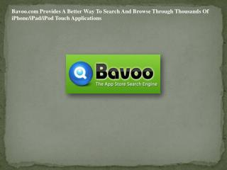 Bavoo.com Provides A Better Way To Search And Browse Through