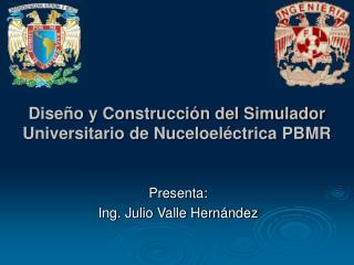 Dise o y Construcci n del Simulador Universitario de Nuceloel ctrica PBMR
