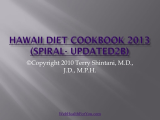 Hawaii Diet Cookbook 2013 (spiral-updated2b)27