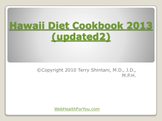 Hawaii Diet Cookbook 2013 (updated2)27